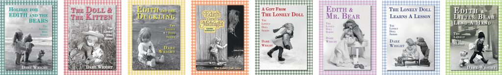 Book Covers of The Lonely Doll Book Series by Dare Wright