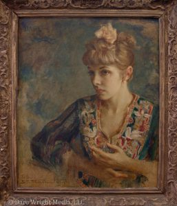 Edith Stevenson Wright's portrait of Dare Wright