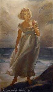 Edith Stevenson Wright's portrait of Dare Wright