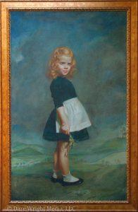Edith Stevenson Wright's portrait of Brook Ashley
