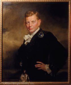Edith Stevenson Wright's portrait of Donald Seawell